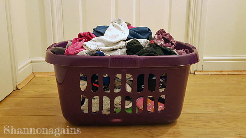 back to blogging - so much laundry